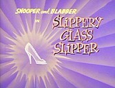 Slippery Glass Slipper Cartoon Picture