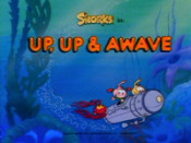 Up, Up & Awave Cartoon Character Picture