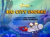 Big City Snorks Picture Into Cartoon