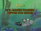It's Always Darkest Before The Snork Pictures In Cartoon