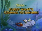 Guess What's Coming To Dinner! Cartoon Picture