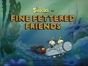 Fine Fettered Friends Cartoon Picture
