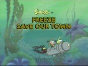 Freeze Save Our Town Cartoon Picture