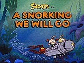 A Snorking We Will Go Cartoon Picture