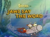 Jaws Says The Word Pictures In Cartoon