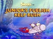 Junior's Fuelish Kelp Rush Picture Into Cartoon
