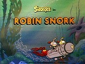 Robin Snork Picture Into Cartoon