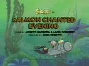 Salmon Enchanted Evening Cartoon Character Picture