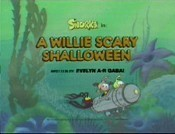 A Willie Scary Shalloween Cartoon Picture