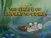 The Shape Of Snorks To Come Cartoon Picture