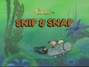 Snip & Snap Cartoon Character Picture