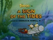A Sign Of The Tides Cartoon Picture