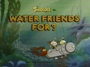 Water Friends For? Cartoon Picture
