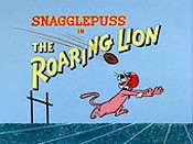 The Roaring Lion Cartoon Picture