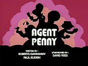 Agent Penny Free Cartoon Picture