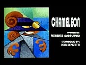 Chameleon Cartoon Picture