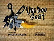 Voo Doo Goat Picture To Cartoon