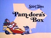 Pam-Dora's Box Picture Into Cartoon
