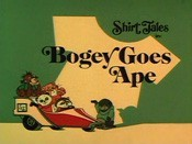 Bogey Goes Ape Cartoon Character Picture