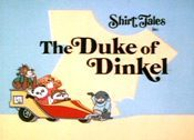The Duke Of Dinkel Cartoon Character Picture