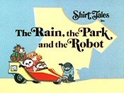 The Rain, The Park And The Robot Cartoon Character Picture