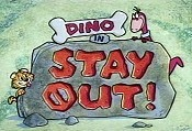 Stay Out Cartoon Picture