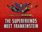 The Superfriends Meet Frankenstein Cartoon Funny Pictures