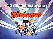 The Super Globetrotters Vs. Whaleman Cartoon Picture