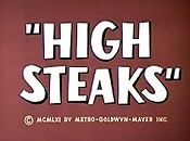 High Steaks Cartoon Picture