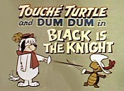 Black Is The Knight Picture Of Cartoon