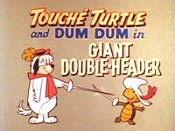 Giant Double-Header Free Cartoon Picture