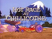 Hot Race To Chillicothe Picture Of Cartoon