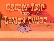 Creepy Trip To Lemon Twist Cartoon Picture