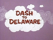 Dash To Delaware Cartoon Picture
