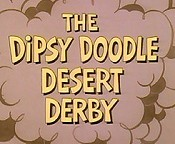 The Dipsy Doodle Desert Derby Cartoon Character Picture