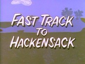 Fast Track To Hackensack Cartoon Picture