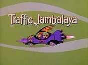 Traffic Jambalaya Cartoon Picture