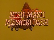 Mish Mash Missouri Dash Cartoon Picture