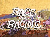 Race To Racine Cartoon Picture