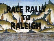 Race Rally To Raleigh Cartoon Picture