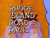 Rhode Island Road Race Cartoon Picture