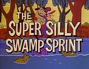 The Super Silly Swamp Sprint Cartoon Character Picture