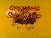 Speeding For Smogland Cartoon Character Picture