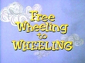 Free Wheeling To Wheeling Cartoon Picture