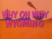 Why Oh Why Wyoming Cartoon Picture