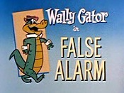 False Alarm Cartoon Character Picture