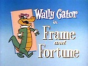Frame And Fortune Free Cartoon Picture