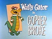 Gopher Broke Picture To Cartoon