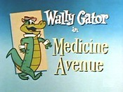 Medicine Avenue Cartoon Picture