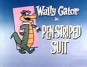 Pen-Striped Suit Cartoons Picture